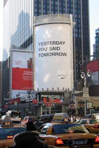 Еволюція зовнішньої реклами