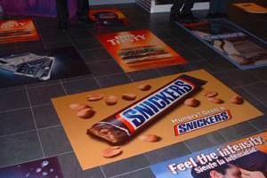 Реклама біля ніг клієнта Найбільший рекламний простір у світі