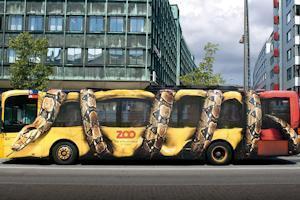 Реклама на транспорті-повідомлення з доставкою