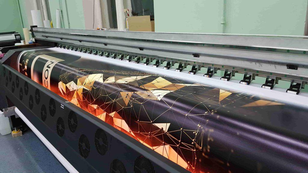 Широкоформатная печать / печать на пленке Киев