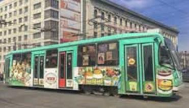 Реклама на общественном транспорте. Ее потребители